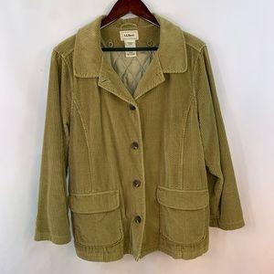 LL Bean Corduroy Barn Coat Field Chore Jacket